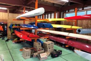 スプリント艇以外にも様々な種類の艇を備えています